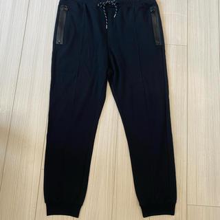 ジルサンダー(Jil Sander)のOAMC オーエーエムシー リブ ジャージ パンツ 黒 size L(その他)