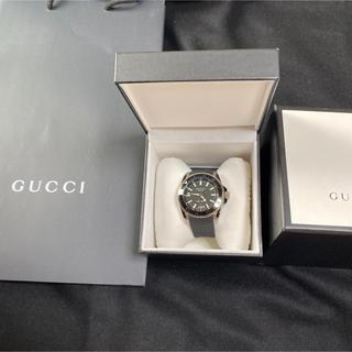 Gucci - 【グッチ】時計 ダイブ  YA136204 ラバーベルト ダイバーベゼル