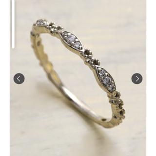 アガット(agete)のお値引き✨agete ダイヤモンドリング7号(リング(指輪))