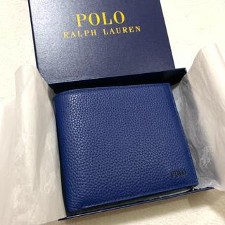 ポロラルフローレン(POLO RALPH LAUREN)のポロ ラルフ ローレン 折り財布 /Blu(折り財布)