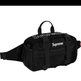 Supreme - 19aw 19fw Supreme Waist Bag Black 黒