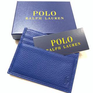 ポロラルフローレン(POLO RALPH LAUREN)のポロ ラルフ ローレン カードケース /Blu(名刺入れ/定期入れ)