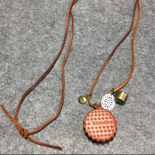 SM2 - SM2 ビスケットモチーフ ロング ネックレス
