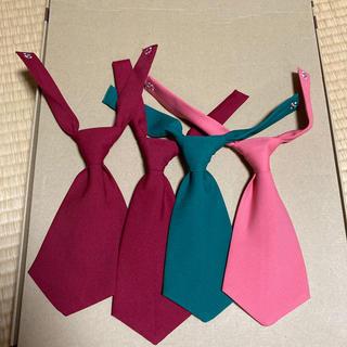 コスプレ ネクタイ 4本セット 20cm(小道具)