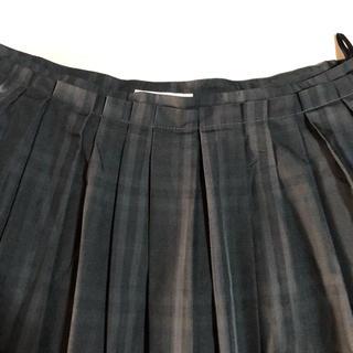 アルファキュービック(ALPHA CUBIC)のアルファキュービック  緑フレアスカート(ひざ丈スカート)