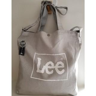 Lee - Lee 2WAYビックトートバッグ(L.GRAY)