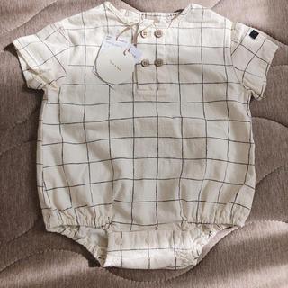 petit main - テータテート 新生児 赤ちゃん ロンパース