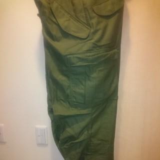 エンジニアードガーメンツ(Engineered Garments)の未使用 米軍 初期アルミジップ M-65 フィールド パンツ カーゴパンツ(ワークパンツ/カーゴパンツ)