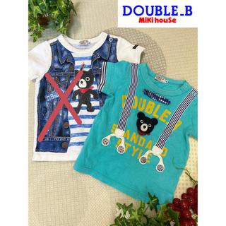 ダブルビー(DOUBLE.B)のミキハウス★ダブルビー★半袖Tシャツ★80(Tシャツ)