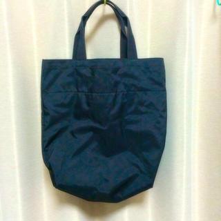 ムジルシリョウヒン(MUJI (無印良品))の無印良品 ブラックトートバッグ(トートバッグ)
