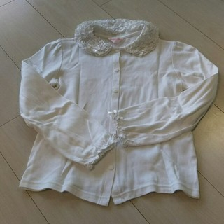 シャーリーテンプル(Shirley Temple)のシャーリーテンプル カットソーブラウス 130(Tシャツ/カットソー)