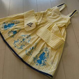 Shirley Temple - シャーリーテンプル 美女と野獣限定ジャンパースカート 130