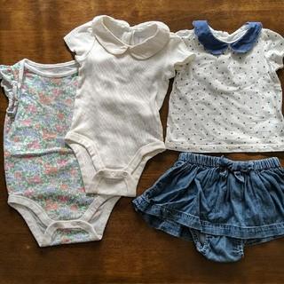 ベビーギャップ(babyGAP)のロンパース トップス ブルマ付きスカート BabyGap 70cm(ロンパース)