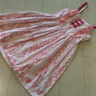 Shirley Temple - シャーリーテンプル バレエシューズジャンパースカート 130