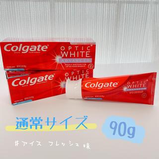 コルゲート Colgate オプティックホワイト アメリカ 歯磨き粉(歯磨き粉)