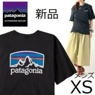 patagonia - 送料無料 パタゴニア Tシャツ XSサイズ ブラック 国内正規品 ユニセックス