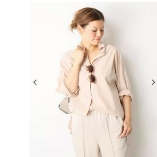 DEUXIEME CLASSE - ドゥーズィエムクラス EVERYDAY ワイドシャツ ピンク