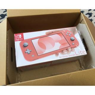 Nintendo Switch - Nintendo Switch Lite コーラルピンク  ニンテンドースイッチ