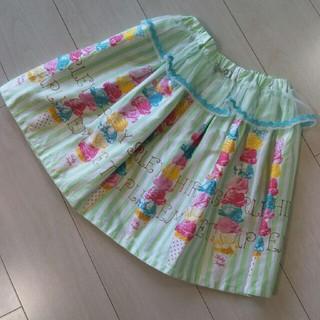 Shirley Temple - シャーリーテンプル アイスタワー スカート 130