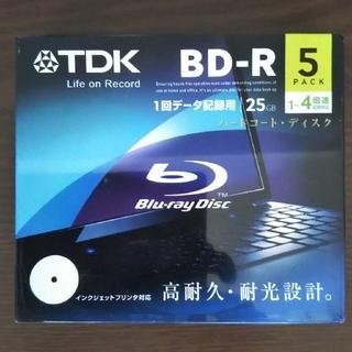 ティーディーケイ(TDK)のTDK BD-R 5枚 CD-R  2枚入り(その他)