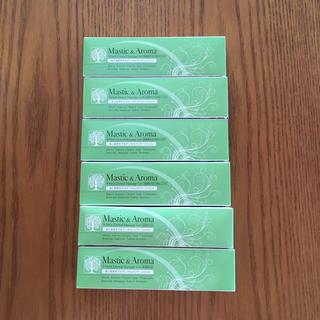 Mastic &Aroma デンタルジェル6本セット(歯磨き粉)