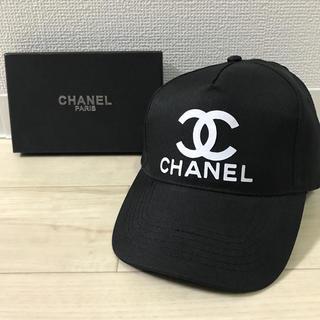 CHANEL - CHANEL ノベルティ  キャップ 黒
