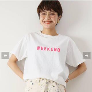 Spick and Span - スピックアンドスパン FUNG weekend Tシャツ
