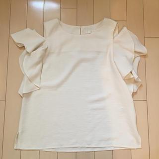 エージーバイアクアガール(AG by aquagirl)のAG by aquagirl 肩あきトップス(カットソー(半袖/袖なし))