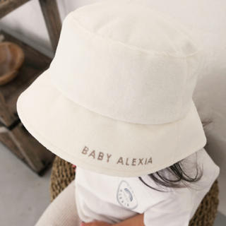 アリシアスタン(ALEXIA STAM)のALEXIASTAM  BABYALEXIA バケットハット(帽子)