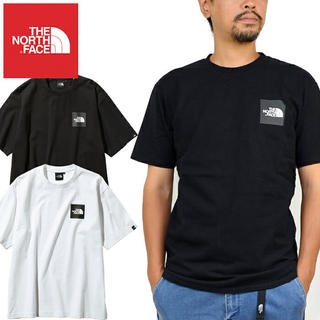 THE NORTH FACE - THE NORTH FACE ザ ノースフェイス SQUARE LOGO TEE