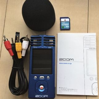 ズーム(Zoom)のZOOM Q3 Handy Video Recorder(その他)