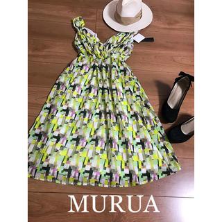 MURUA - ☆MURUA☆ムルーア  総柄ワンピース