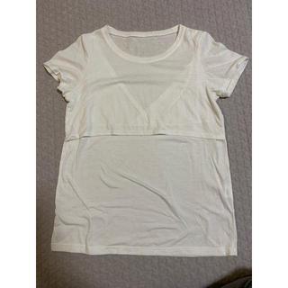 ニシマツヤ(西松屋)の授乳用Tシャツ Mサイズ (マタニティトップス)