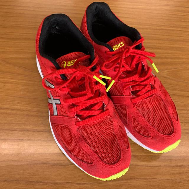 asics(アシックス)のアシックス ランニングシューズ TJL437 ライトレーサー26.5cm ワイド メンズの靴/シューズ(スニーカー)の商品写真