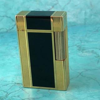 エステーデュポン(S.T. Dupont)の決算セール☆Dupont デュポン ライター ジッポ ローラガス ラインゴールド(タバコグッズ)