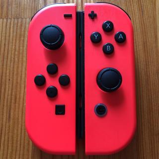 Nintendo Switch - Switch ジョイコン ネオンレッド×ネオンレッド