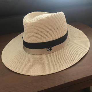 メゾンミッシェル(Maison Michel)のメゾンミッシェル Mサイズ(麦わら帽子/ストローハット)