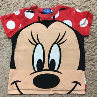 ディズニー(Disney)のディズニーランド ミニー ビッグフェイスTシャツ(Tシャツ/カットソー)