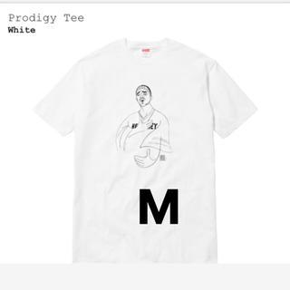 シュプリーム(Supreme)のsupreme prodigy tee 白 M(Tシャツ/カットソー(半袖/袖なし))