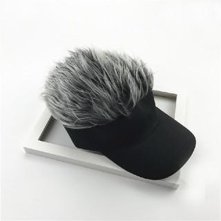 サンバイザー シルバー 帽子(その他)