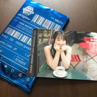 水樹奈々 LIVE EXPRESS2019ナナカ①(写真/ポストカード)
