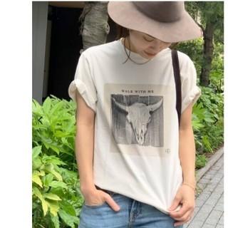 L'Appartement DEUXIEME CLASSE - AP STUDIO 【ANINE BING/アニービン】プリント Tシャツ