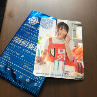 水樹奈々 LIVE EXPRESS 2019ナナカ ④(写真/ポストカード)