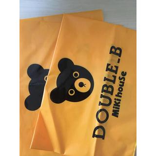 ダブルビー(DOUBLE.B)の新品未使用!MIKIHOUSE DOUBLE B. ショッパー 2枚セット(Tシャツ/カットソー)