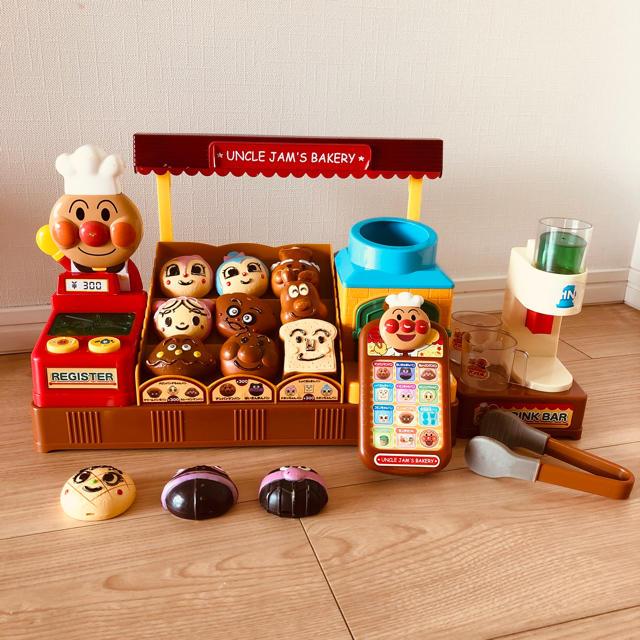 アンパンマン(アンパンマン)のアンパンマン パン工場セット キッズ/ベビー/マタニティのおもちゃ(知育玩具)の商品写真