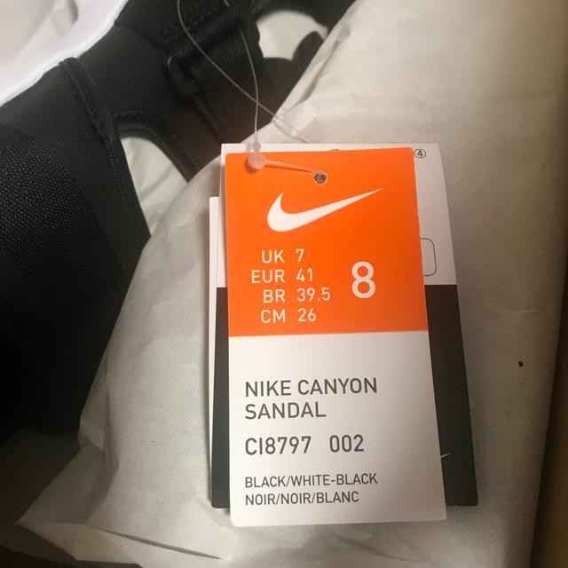 NIKE(ナイキ)の新品未使用 26cm NIKE キャニオン サンダル メンズの靴/シューズ(サンダル)の商品写真