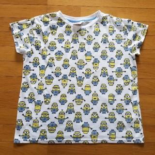シマムラ(しまむら)のミニオン総柄Tシャツ3L(Tシャツ(半袖/袖なし))