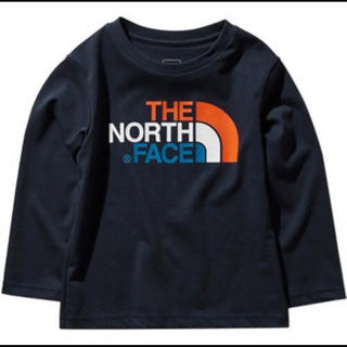 THE NORTH FACE - THE NORTH FACE キッズ ロングTシャツ