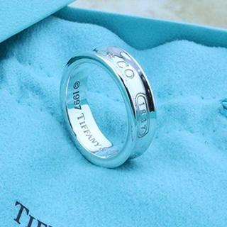 Tiffany & Co. - ☆新品☆未使用☆ティファニー 1837ロゴリング 6号