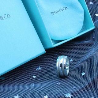 ティファニー(Tiffany & Co.)の☆新品☆未使用☆Tiffany&Co. ティファニー ラインリング7号(リング(指輪))